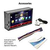 Mouchao 7'Touch kapazitiver Bildschirm für Android 5.1 Player Auto DVD WiFi Navigation blau