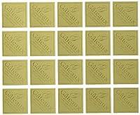 cotta ケーキピック 角G-1(金) 金 2.3×2.3cm 353 100枚入