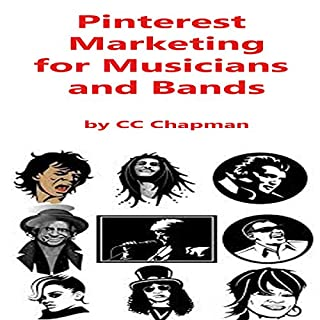 Pinterest Marketing for Musicians and Bands audiobook cover art