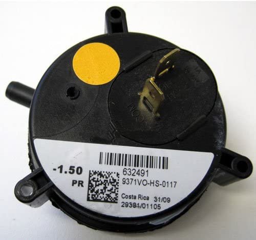 new arrival 632491 2021 - Nordyne Furnace Vent Air discount Pressure Switch - OEM Replacement outlet online sale