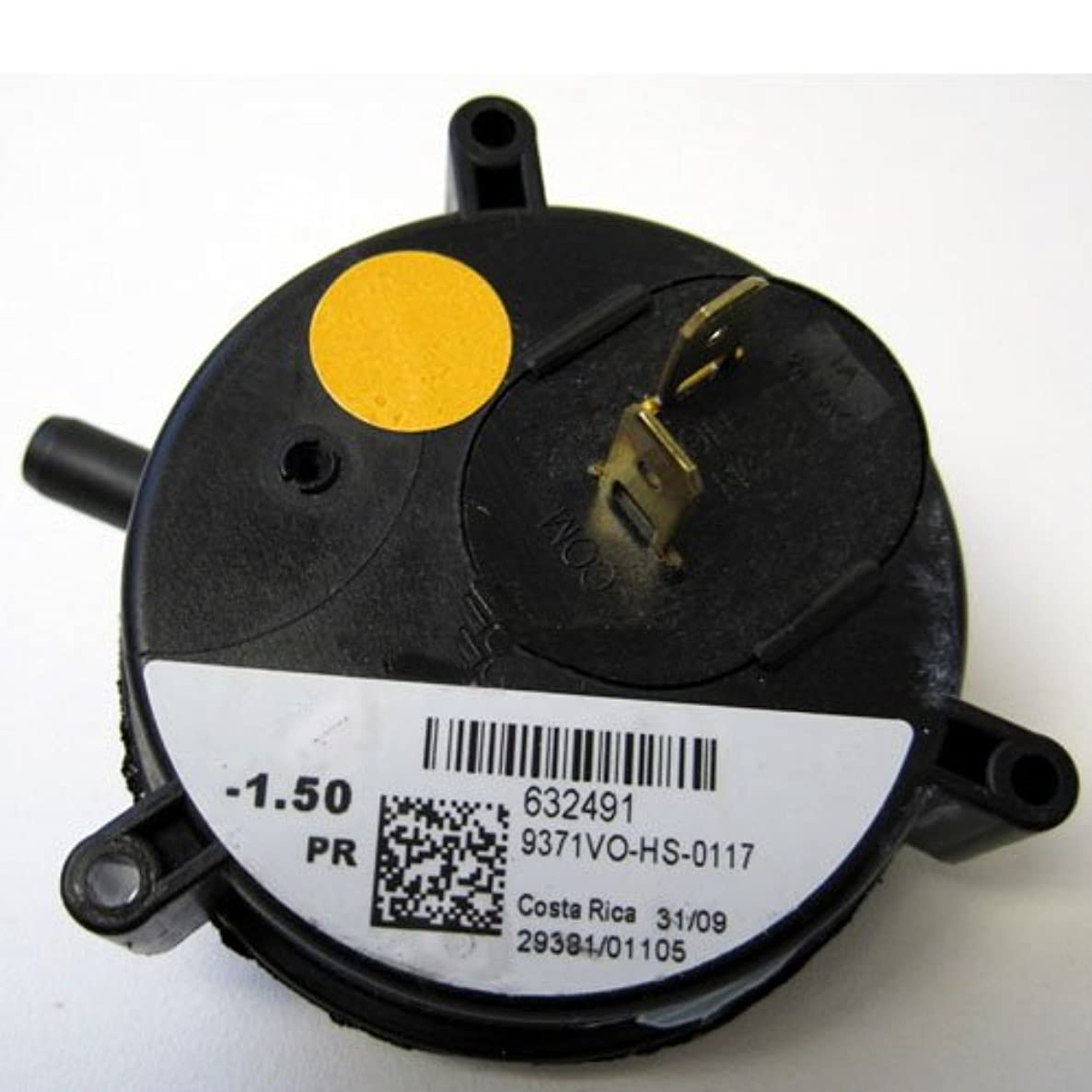 632491 - Nordyne Furnace Vent Air Pressure Switch - OEM Replacement