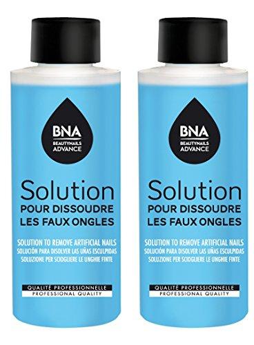 Beautynails Advance Solution pour Dissoudre 2 Bouteille de 125 ml
