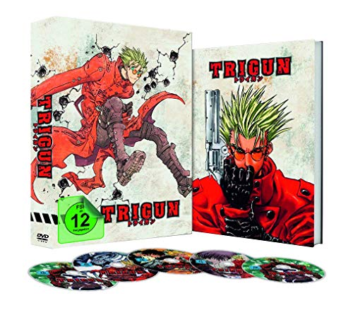 Trigun - Episode 01-26 (inkl. A4 Collector's Box und Booklet) [6 DVDs]