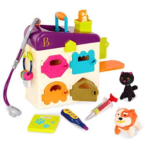 B. Toys BX2145Z Pet Vet Clinic, Multi-Colour