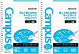 "Kokuyo Campus Todai Series Pre-dotted Loose Leaf Paper for Binders - B5 (6.9"" X 9.8"") - 6 Mm Rule - 36 Lines X 200 Sheets - 26 Holes (Japan Import)"