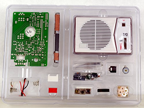 Tecsun 2P3 AM Radio Receiver Kit - DIY for Enthusiasts, Built it into a Radio case !