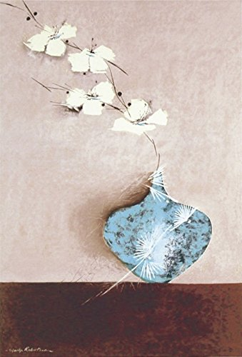 Artland Qualitätsbilder I Kunstdruck Wandbild Gemälde Bild Kunst - Größe 39 x 58 cm - Jade II Stillleben Arrangements A5WJ