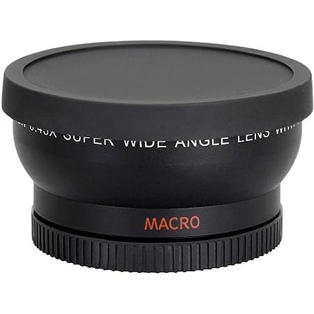 Andoer 58mm 0 45x Hd Weitwinkel Objektiv Mit Makro Kamera