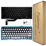 Padarsey New Replacement US Layout Backlit Keyboard Compatible for MacBook Pro 15' A1398 2013 2014 2015 Retina W/Screws(Please Confirm Your Your Keyboard Layout is US Layout!)