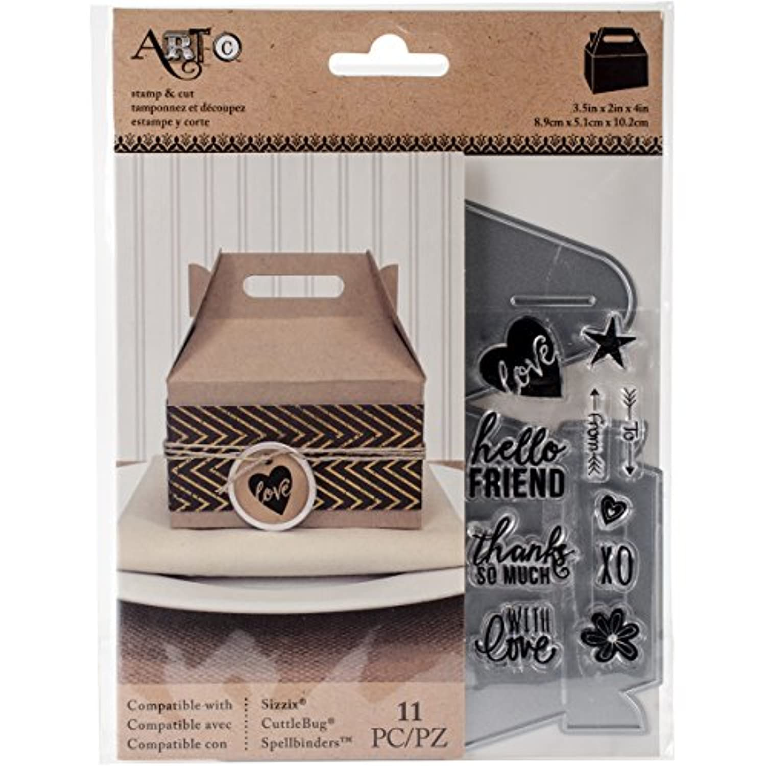 Momenta Gable Box Die and Stamp Combo
