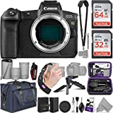 Canon EOS Ra Mirrorless Digital Camera Body + Canon EF-EOS R Mount Adapter with Altura Photo Complete Accessory and Travel Bundle