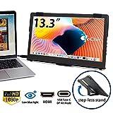 GeChic モバイルモニター On-Lap 1306H 13.3インチ USB Type-C/HDMI ハイブリッド映像入力 IPS液晶 ブルーライト軽減