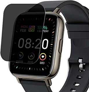 Vaxson Sekretess skärmskydd, kompatibel med Donerton P32 1,75 tum smartklocka smartwatch, anti-spionskydd filmskydd kliste...