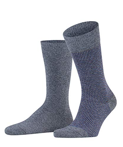 ESPRIT Herren Contrasty Piqué 2-Pack M SO Socken, Grau (Flint Grey 3620), 43-46 (2er Pack)