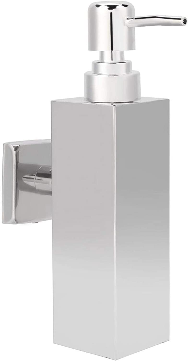 BORDSTRACT Bombing new work Ranking TOP16 Soap Dispenser Wall Mount Stainless Steel Han Manual
