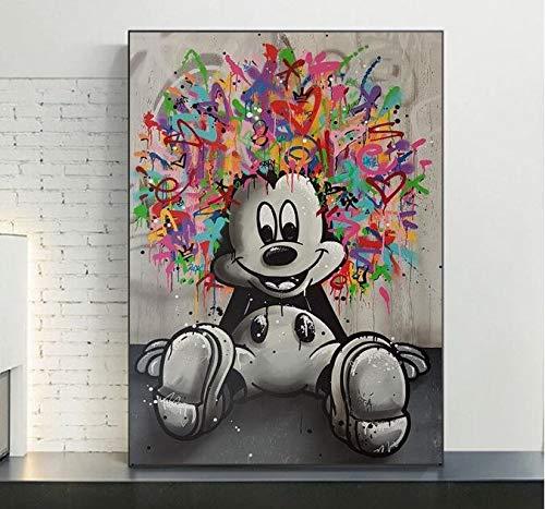 Puzzle 1000 Piezas Pintura Abstracta de Graffiti Pop Art Puzzle 1000 Piezas clementoni Rompecabezas Educativo de Juguete para aliviar el estrés intelectual50x75cm(20x30inch)
