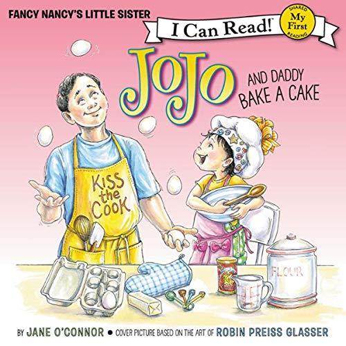 Fancy Nancy: JoJo and Daddy Bake a Cake audiobook cover art
