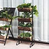 Vertical Garden Planter Tiered Planter Stand for Patio Balcony Garden, Indoor Planters, Home Decor, Vertical Raised