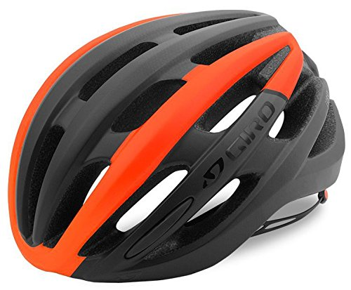 Giro Foray hel4wb–Mat Black/Vermillion Fade, L 59-63cm