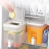 Dispensadores de bebidas - Recipiente de plástico para agua - Dispensador de bebidas de 1 galón - Dispensador de bebidas grande