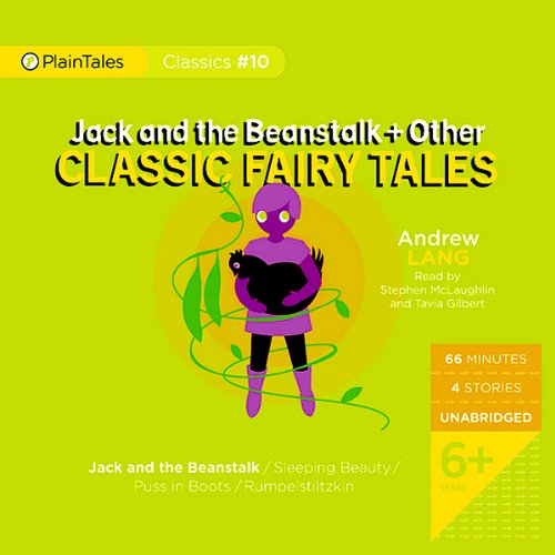 Jack and the Beanstalk and Other Classic Fairy Tales audiobook cover art