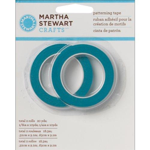 Plaid: Craft Martha Stewart Muster Tape 2/Pkg, andere, Mehrfarbig