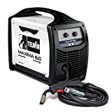 Telwin 816085 Maxima 160 Synergic Saldatrice Inverter a Filo Mig-Mag/Flux/Brazing, 230 V, Bianco,...
