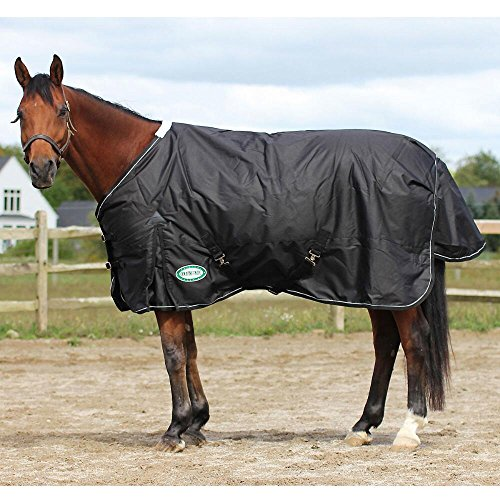 Country Pride SnowRidge 1200D Heavyweight Turnout Horse Blanket, Size 86, Black