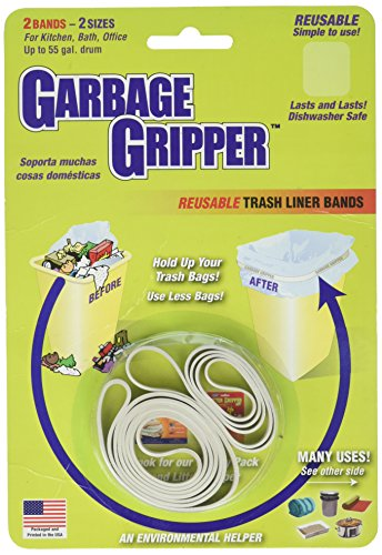 Garbage Gripper Band, 1 Pack of 2 Bands