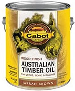 Cabot Australian Timber Oil Exterior Jarrah Brown 1 Gl