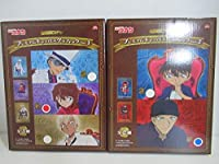 名探偵コナン プレミアムキャンバスグラフィック Vol.1 Vol.2 2種セット 灰原哀 赤井秀一