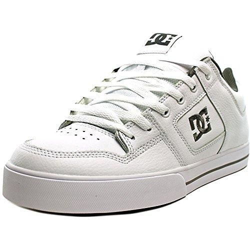 DC Shoes PURE SHOE D0300660, Herren, Sneaker, Weiss (HBWD WT/BTSH/WT), EU 45 (UK 10.5) (US 11.5)