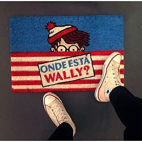 Tapete/Capacho Fibra de Coco 60cm - Onde Está Wally