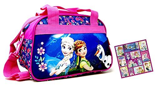 Die Eiskönigin Disney Frozen - Borsa da viaggio per bambini, 34 x 22 x 21 cm