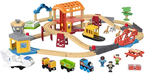 Thomas & Friends Wood Busy Island Set