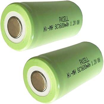 ✩IT✩ NiMH SubC 1,2V//3600mAh Single-cell