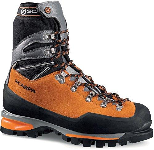 SCARPA Mont Blanc Pro GTX Men's Hiking Shoe, Orange, 44