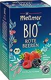 Meßmer Tee Bio Rote Beeren, 96 g