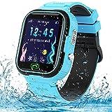 Reloj Smartwatch para niños, Impermeable Reloj Inteligente Niño LBS Localizador Reloj del Teléfono con Call SOS para Niño Niña Regalo