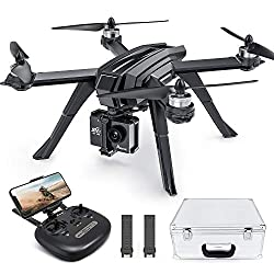 small Potensic D85 FPV drone, 2K adult camera with brushless motor, 5G WiFi live video, RC …