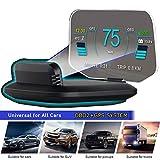 "6"" HUD OBD2 GPS Dual System Tachometer Kilometerstand Diagnose Auto"
