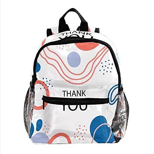 Mochila para niños y niñas, mochila escolar para niños para guardería, preescolar, guardería, bolsa de viaje, paisaje lunar, Bunte Abstrakte Kunst Hintergrund, 25.4x10x30 CM/10x4x12 in,