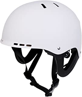 MonkeyJack Lightweight & Durable - CE Certified, Safety Water Sports Helmet Portective Gear for Kayaking, Surfing, Boating, Drifting, Water Skiing, Jet Skiing, Sailing, Wakeboarding