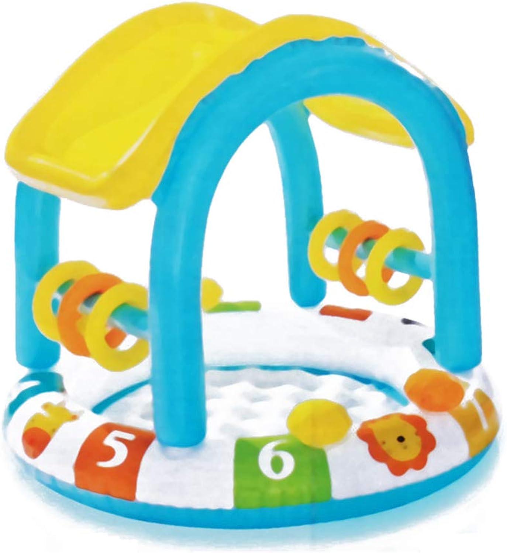 BABI Piscine Gonflable familiale pour Centre de Natation, 40 X 34 , adaptée aux Enfants de Plus de 3 Ans