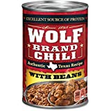 Wolf Brand Chili with Beans, Packed with Protein, 24 Ounce