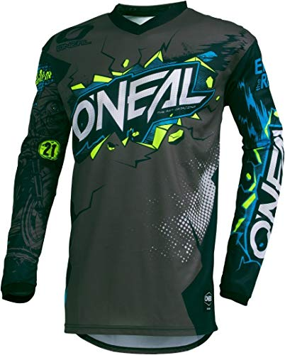 O\'NEAL Element Youth Jersey VILLAIN GRAY L