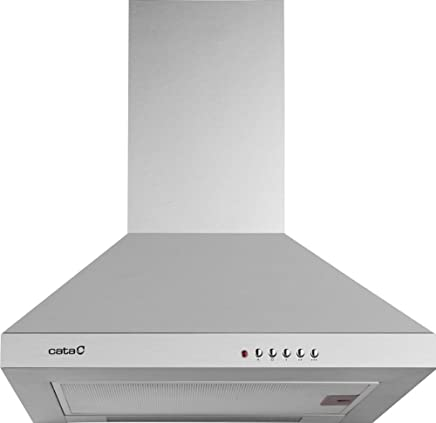 Campana 850 m/³//h, Canalizado//Recirculaci/ón, A, A, B, 65 dB CATA CORONA X 90 850 m/³//h Encastrada Acero inoxidable A
