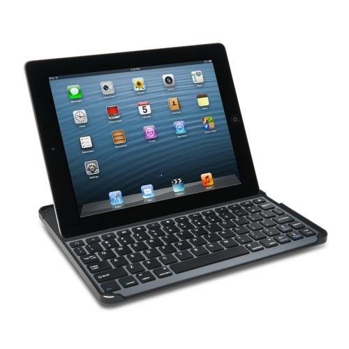 Kensington KeyCover Hard Shell Bluetooth Keyboard Cover and Stand for iPad 2/3/4 (K39785US)