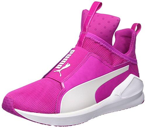 Puma Fierce Core, Damen Hallenschuhe, Pink (Ultra Magenta-puma White 10), 40 EU (6.5 Damen UK)