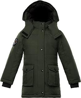 Madigan Girls Hooded Down Jacket Parka